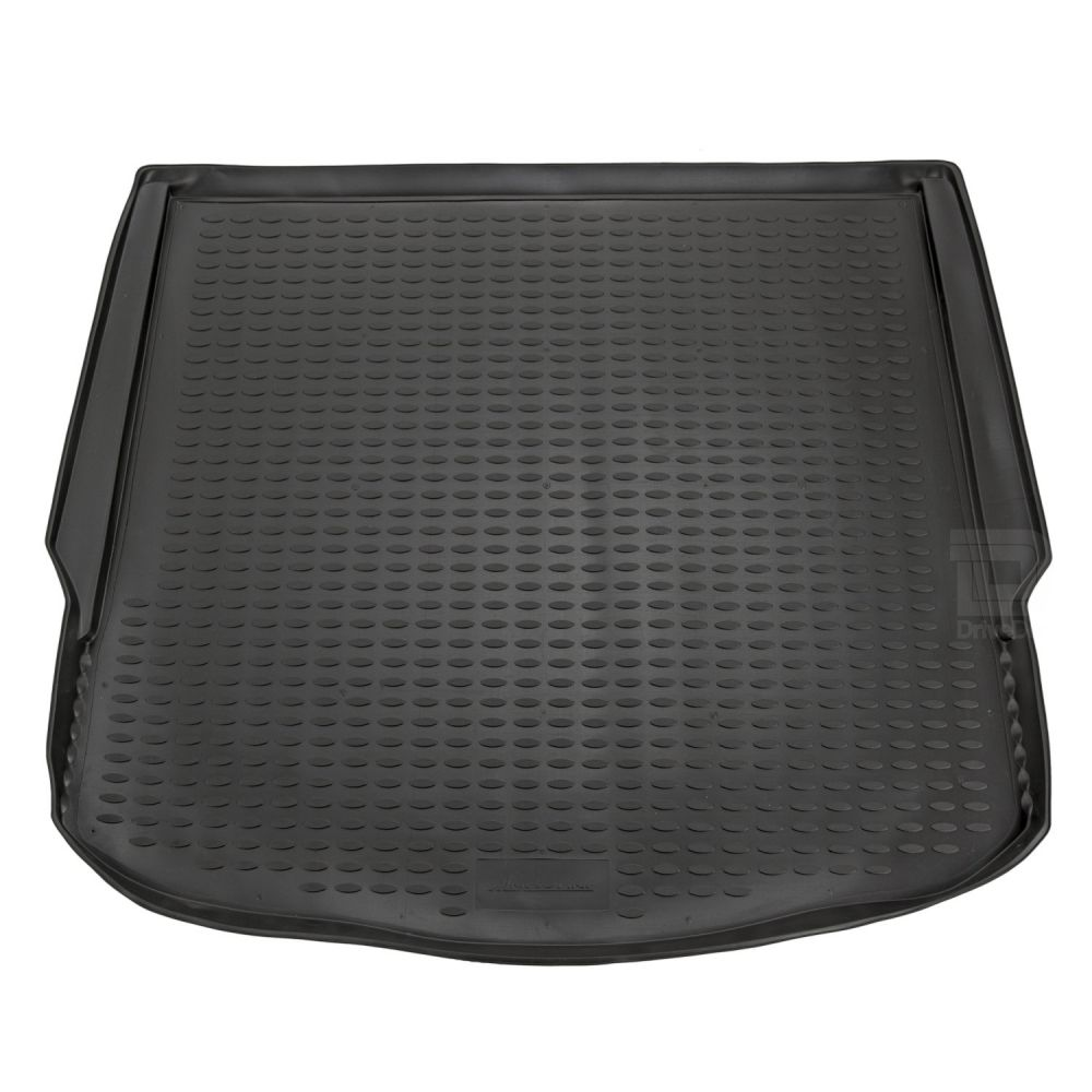 Tailored Black Boot Liner to fit Ford Mondeo Mk.4 Hatchback 2007 - 2014 (with Raised Boot Floor - Full Size Spare Wheel)
