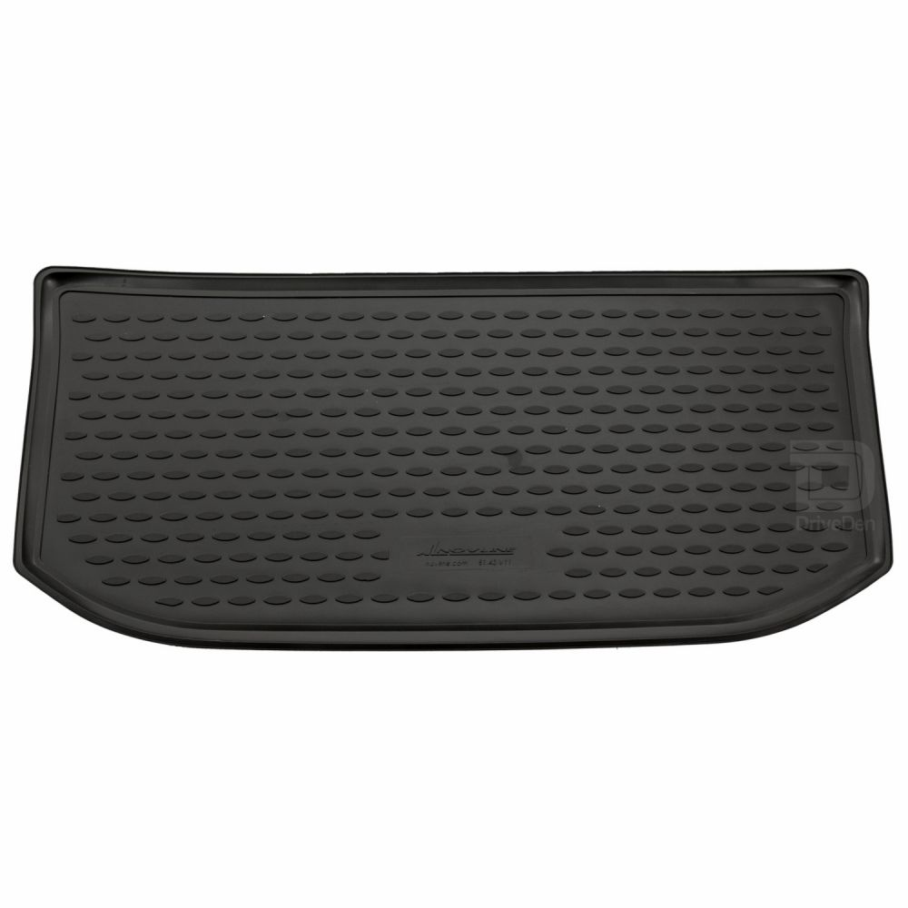 Tailored Black Boot Liner to fit Volkswagen UP! 2012 - 2021 (with Raised Boot Floor)