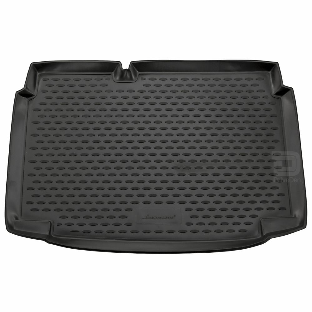 Tailored Black Boot Liner to fit Volkswagen Polo Mk.5 2009 - 2017 (with Lowered Boot Floor)
