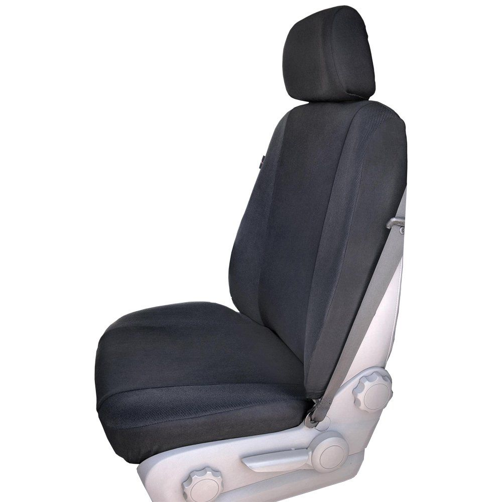Heavy Duty Single Front Anthracite Seat Protector Cover