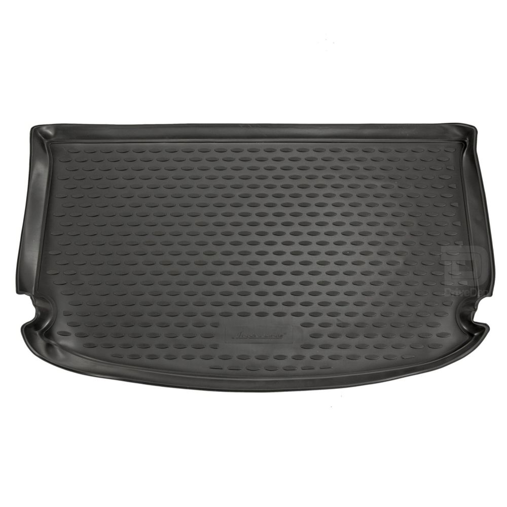 Tailored Black Boot Liner to fit Kia Soul Mk.2 2014 - 2018 (with Raised Boot Floor)
