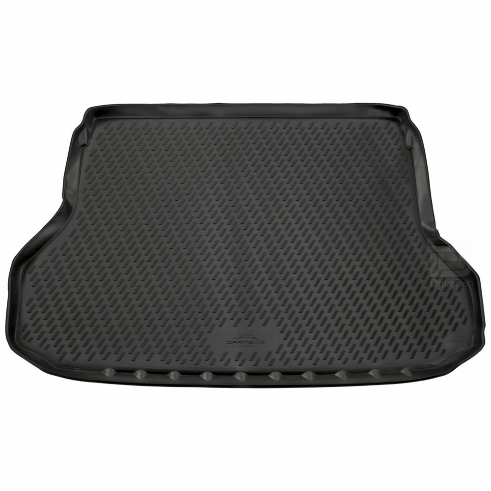 Tailored Black Boot Liner to fit Nissan X-Trail (5 Seater) Mk.3 2014 - 2021 (with Raised Boot Floor)