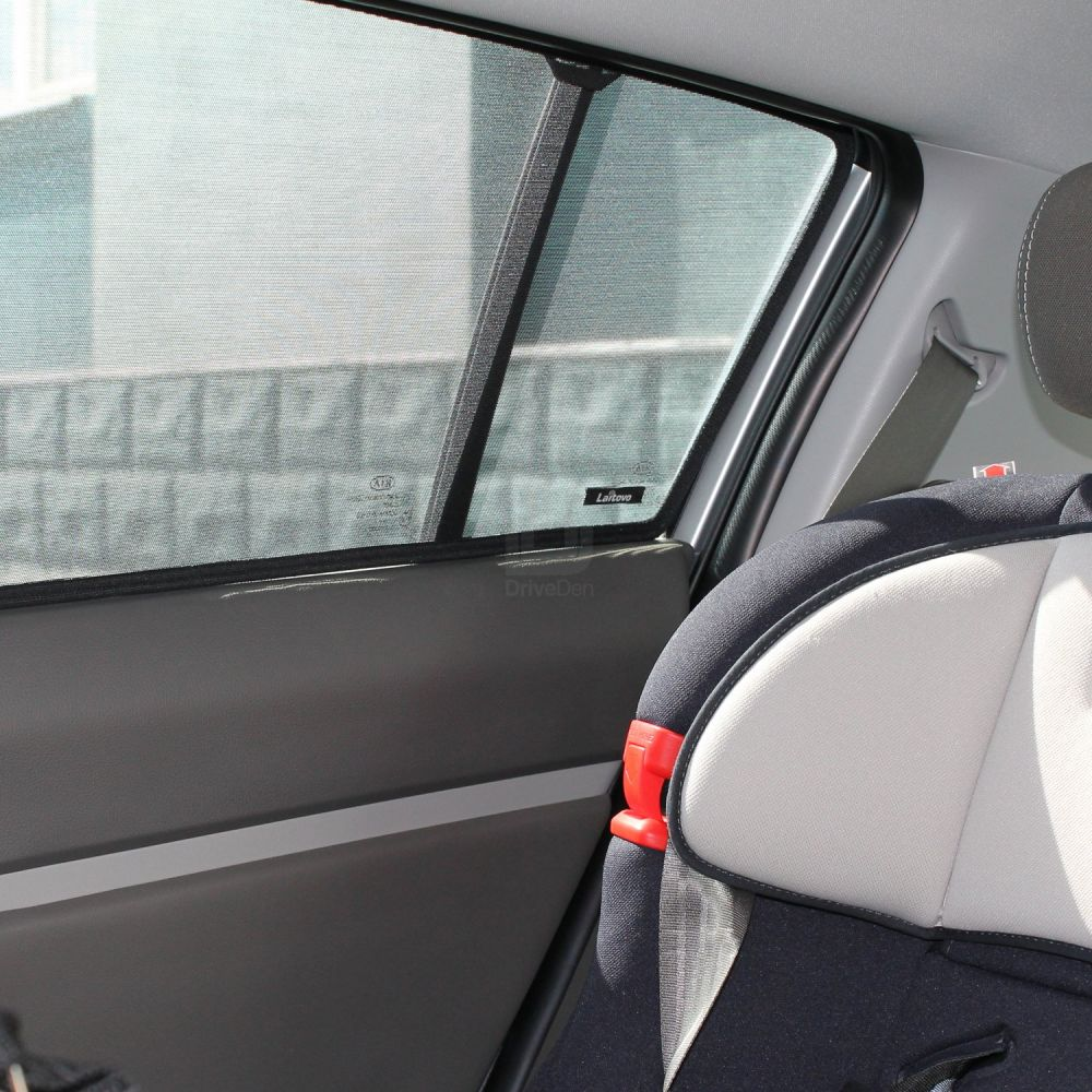 Tailored Car Sun Shades to fit Audi A4 Saloon (B8) 2008 - 2015