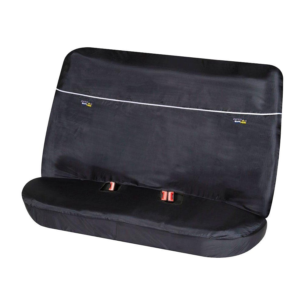 Outdoor Sports Rear Black Seat Protector Cover