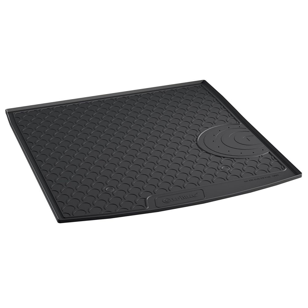 Tailored Black Boot Liner to fit Volkswagen Golf Estate Mk.7 2013 - 2020 (with Raised Boot Floor)