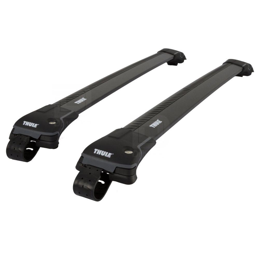 WingBar Edge Black Aluminium Roof Bars to fit Ford Kuga Mk.2 2013 - 2019 (Open Roof Rails)