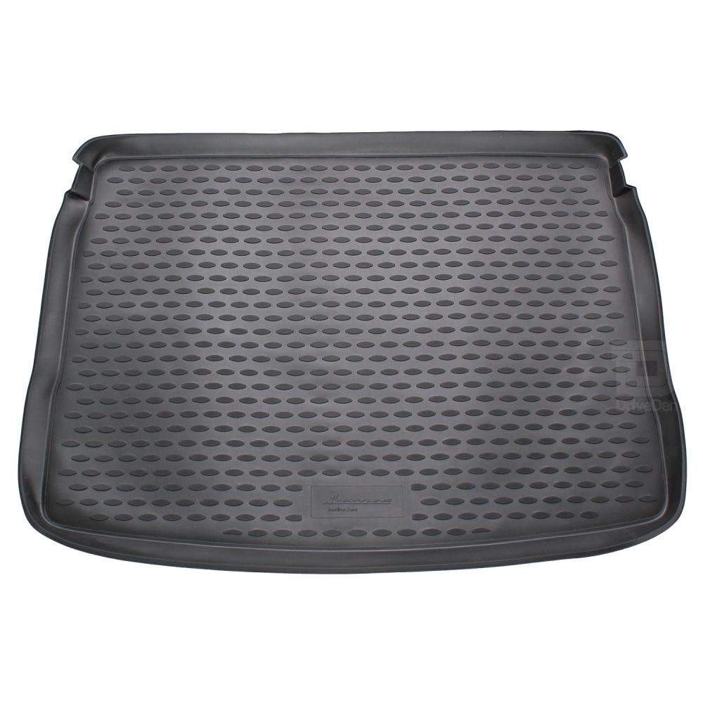 Tailored Black Boot Liner to fit Volkswagen Golf Hatchback Mk.6 2008 - 2012 (with Raised Boot Floor - Full Size Spare Wheel)