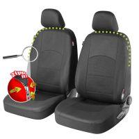 Derby Premium Zipp-It Black Front Car Seat Covers
