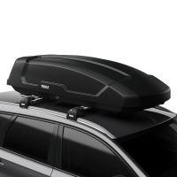 Force XT L 450L Black AeroSkin Roof Box