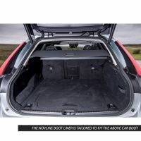 Tailored Black Boot Liner to fit Volvo V90 2016 - 2021