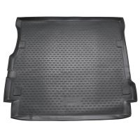 Tailored Black Boot Liner to fit Land Rover Discovery 4 2009 - 2016 (Long Mat)