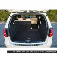 Tailored Black Boot Liner to fit Mercedes B Class (W246) 2012 - 2018 (with Raised Boot Floor)