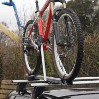 Speed Aluminium Roof Mount Bike Carrier - Silver