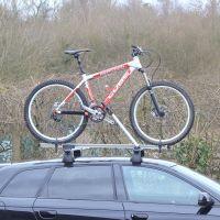 Speed Twin-Pack Aluminium Roof Mount Bike Carriers - Black