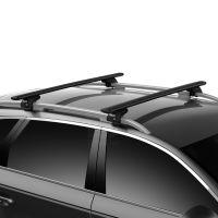 WingBar Evo Black Aluminium Roof Bars to fit Ford Kuga Mk.2 2013 - 2019 (Open Roof Rails)
