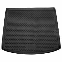 Tailored Black Boot Liner to fit Seat Leon ST Estate Mk.3 2014 - 2020 (with Lowered Boot Floor)