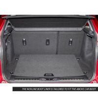 Tailored Black Boot Liner to fit Land Rover Range Rover Evoque (5 Door) Mk.1 2011 - 2018 (without Adaptive Mounting System)