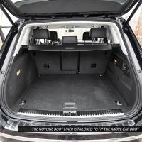Tailored Black Boot Liner to fit Volkswagen Touareg Mk.2 2010 - 2018