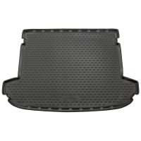 Tailored Black Boot Liner to fit Kia Sportage Mk.4 2016 - 2021 (with Raised Boot Floor)