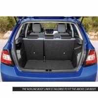 Tailored Black Boot Liner to fit Skoda Fabia Hatchback Mk.3 2015 - 2021