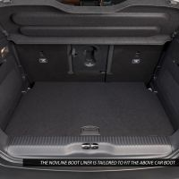 Tailored Black Boot Liner to fit Citroen C3 Aircross 2017 - 2021 (with Raised Boot Floor)