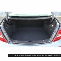 Tailored Black Boot Liner to fit Mercedes C Class Coupe (C204) 2011 - 2015
