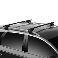 SquareBar Evo Steel Roof Bars to fit Ford Kuga Mk.2 2013 - 2019 (Open Roof Rails)