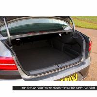 Tailored Black Boot Liner to fit Volkswagen Passat Saloon Mk.8 2015 - 2021