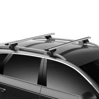 WingBar Evo Silver Aluminium Roof Bars to fit Ford Kuga Mk.2 2013 - 2019 (Open Roof Rails)
