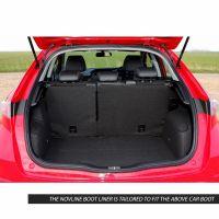 Tailored Black Boot Liner to fit Honda Civic Hatchback (5 Door) Mk.8 2005 - 2011