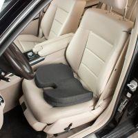 Orthopaedic Memory Foam Black Car Seat Cushion