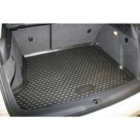 Tailored Black Boot Liner to fit Audi Q3 Mk.1 2011 - 2018 (with Raised Boot Floor)