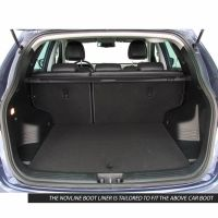 Tailored Black Boot Liner to fit Hyundai ix35 2010 - 2015
