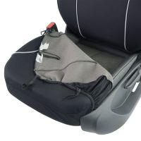 Allessandro Zipp-It Front Black Car Seat Covers