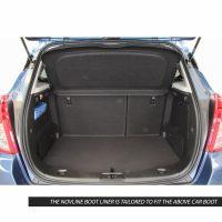 Tailored Black Boot Liner to fit Vauxhall Mokka & Mokka X Mk.1 2012 - 2019