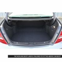 Tailored Black Boot Liner to fit Mercedes C Class Saloon (W204) 2007 - 2014