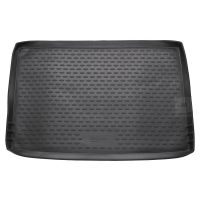 Tailored Black Boot Liner to fit Skoda Yeti 2009 - 2017 (with Space Saver Spare Wheel)
