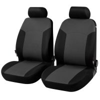 Portland Front Black/Grey Car Seat Covers